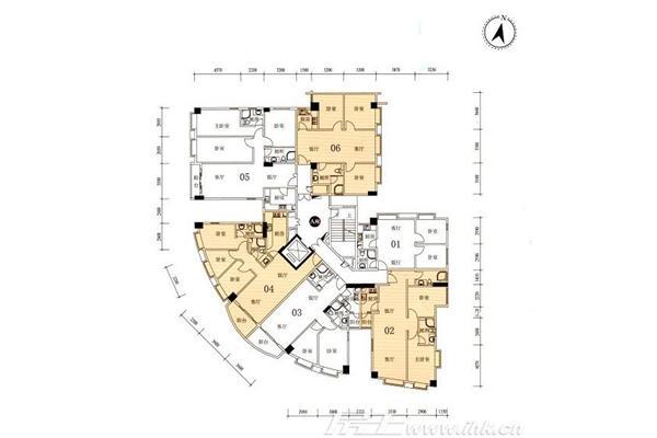 创业咖啡厅平面设计图展示
