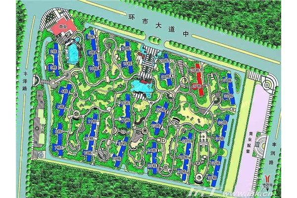 南沙滨海花园规划图