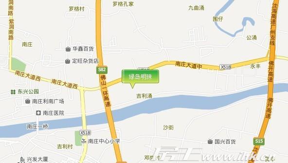 塘沽区绿岛公园地图