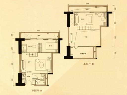 五间房子地基二层设计图展示