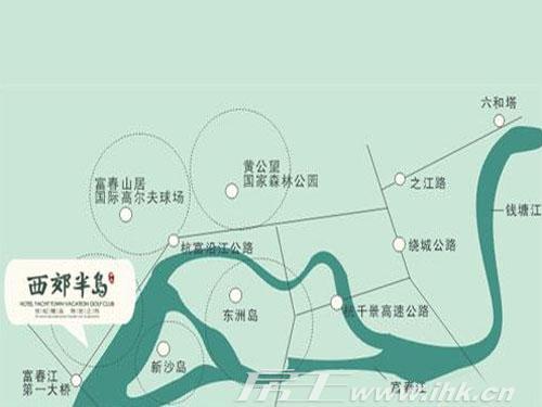 星际半岛小区规划图