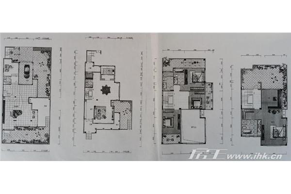 龙韶关_洲岛别墅精品高档大型住宅社区门各种图片