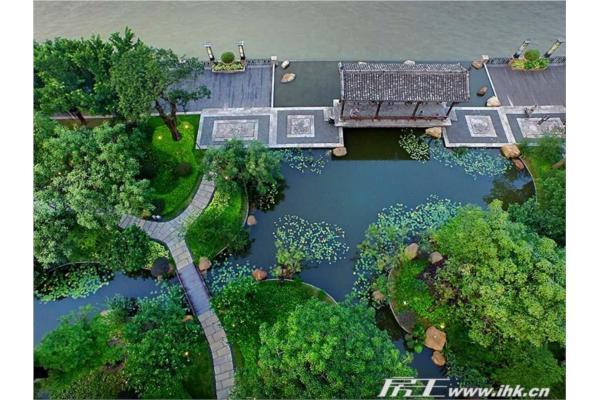 房王网 广州站  星河湾半岛园林实景俯瞰图 查看原图              图