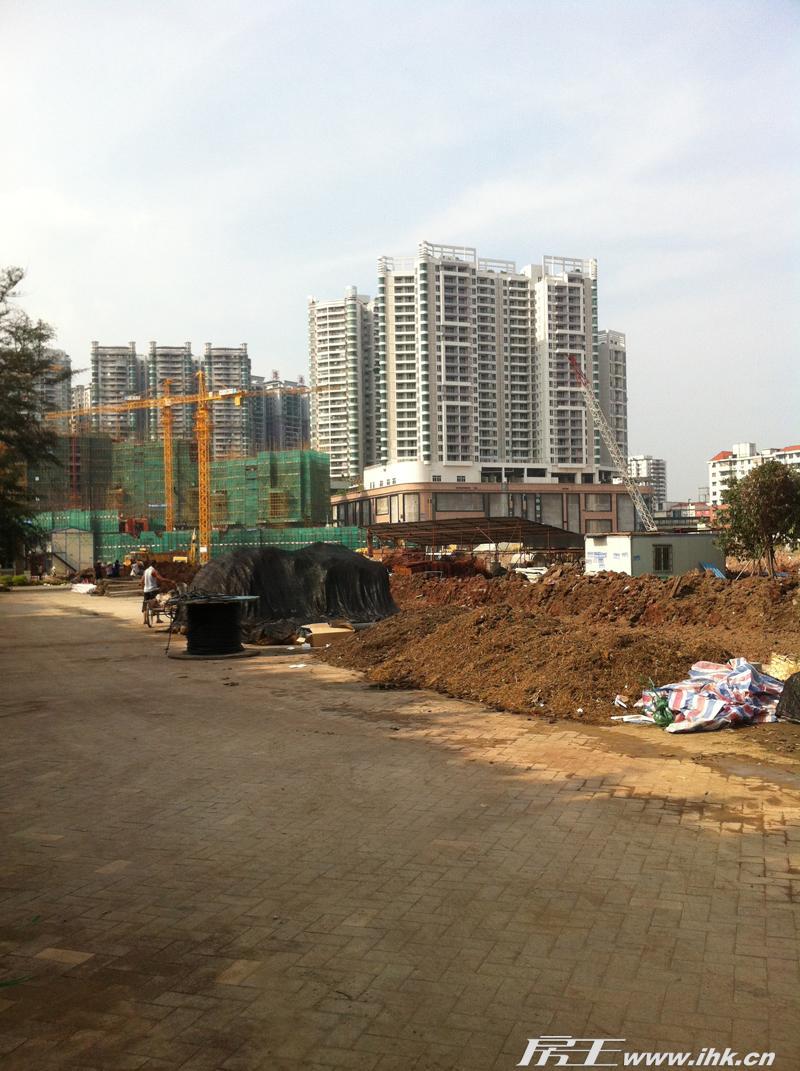 中信西关海楼盘实景图_西关海旁边就是荔港南湾_广州