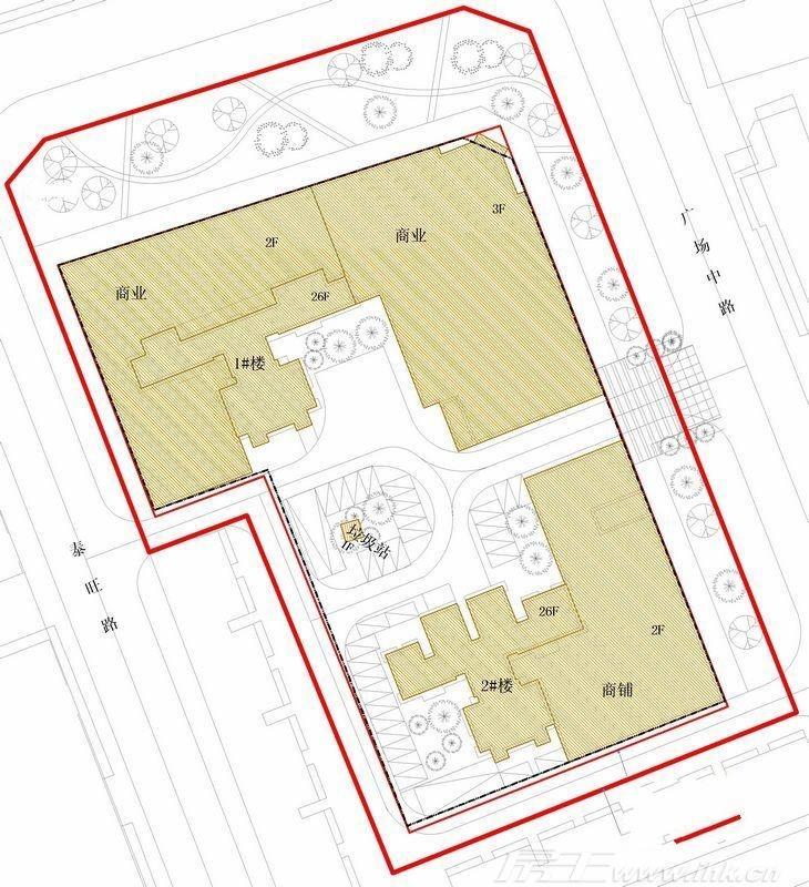 永江国际公馆规划图