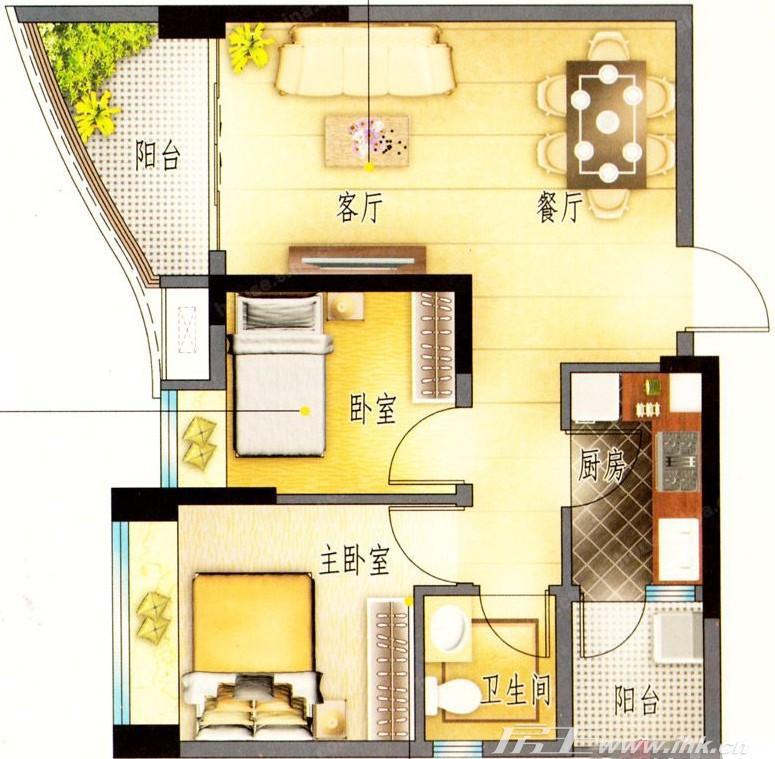 碧桂园天玺湾精选户型,在售户型,户型介绍 精选户型 广州新房