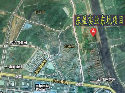 东盈实业东坑项目交通图