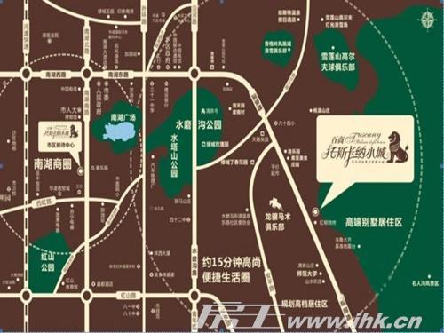 百商·托斯卡纳小城:毗邻水磨沟风景区