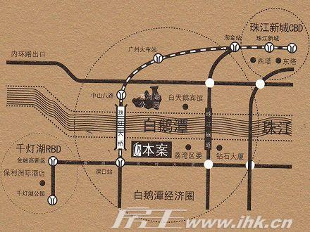 新世界凯粤湾交通图