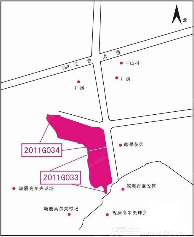 珠江观澜御景交通图