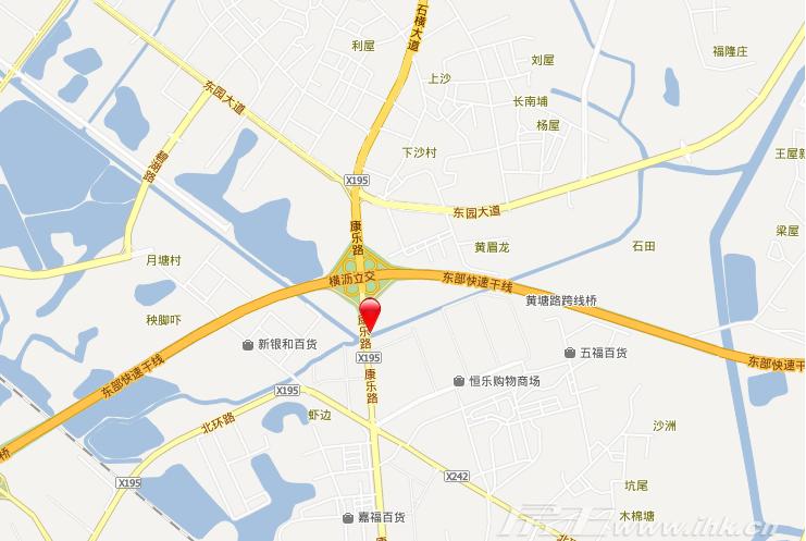名巨中央交通图
