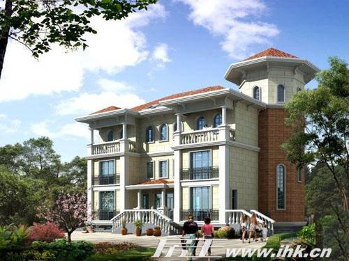 别墅为叠拼,250-380平米的4-5室.