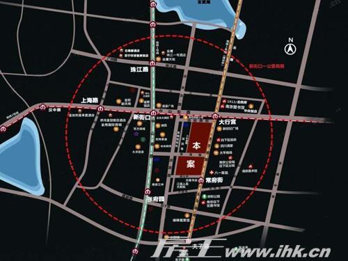 南京街景地图照片