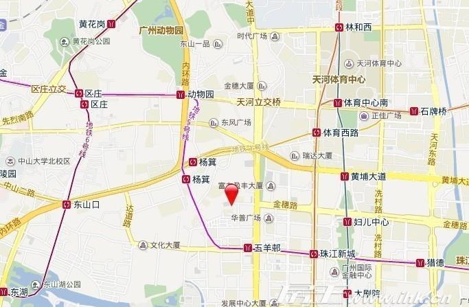 东山上品交通图