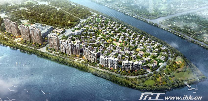 南天名苑:三江汇聚城央原生态最后别墅半岛