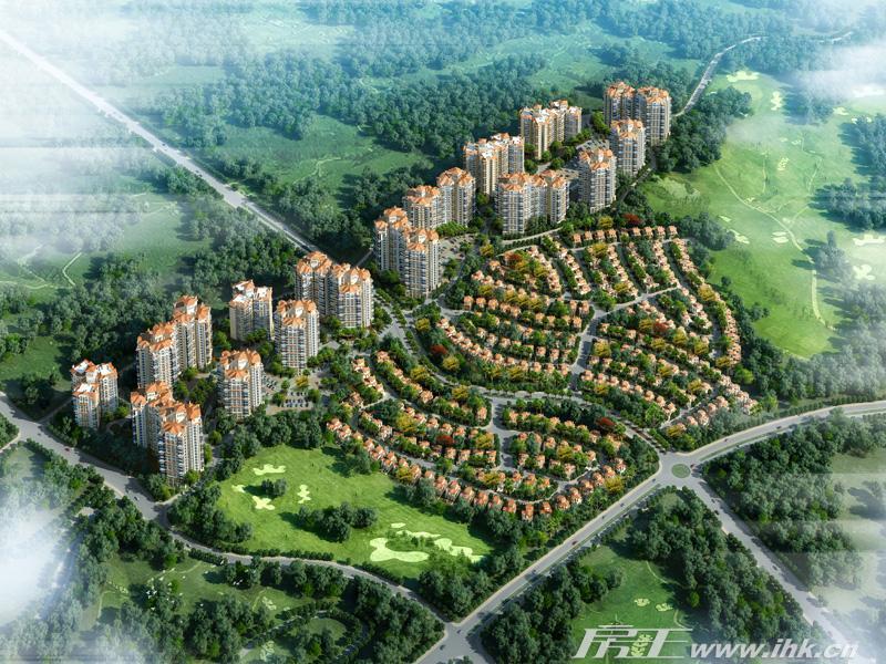 中国美林湖效果图
