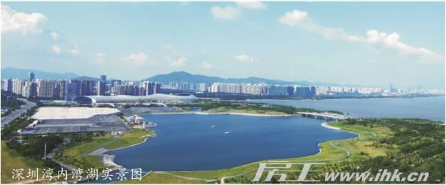 深圳湾1号实景图