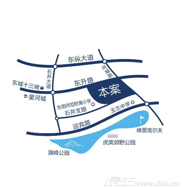 鼎峰尚境交通图