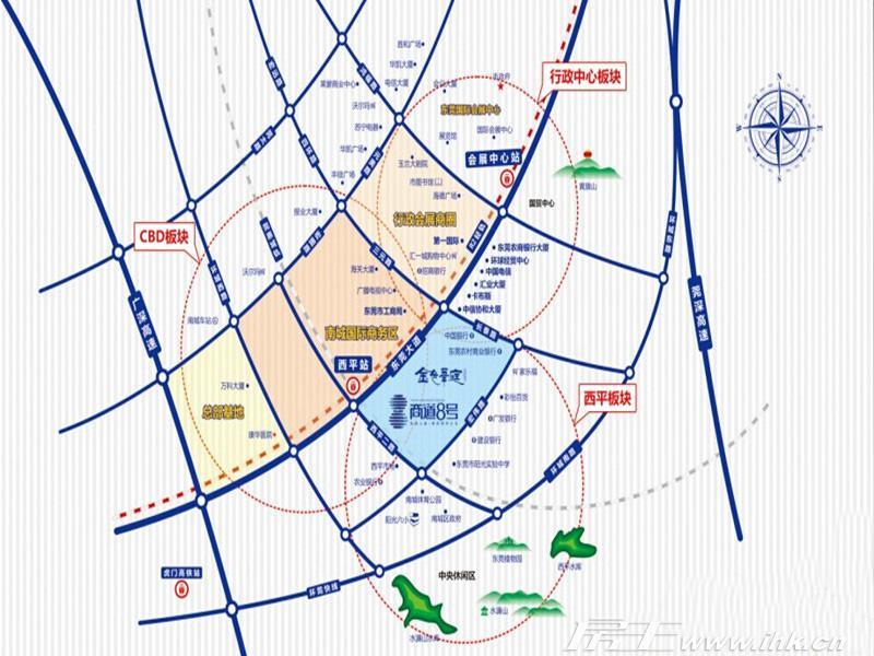商道8号 交通图