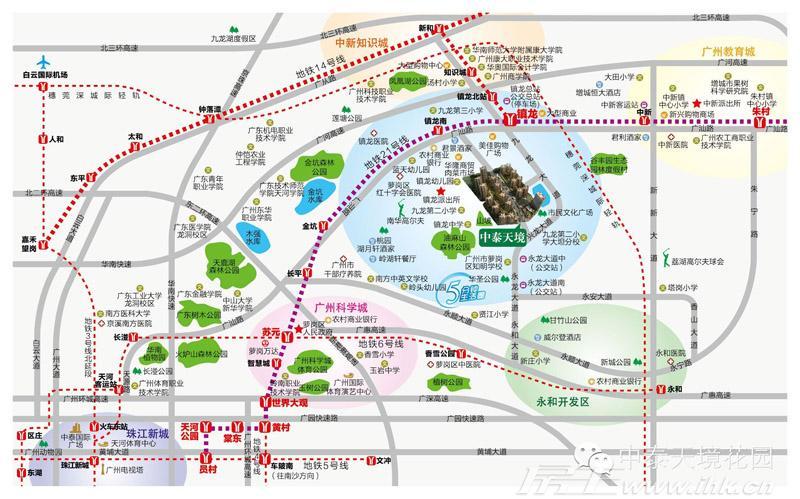 中泰天境交通图