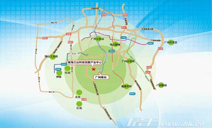 三山风景名胜区游览图