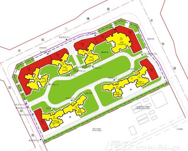 振业天颂花园规划图