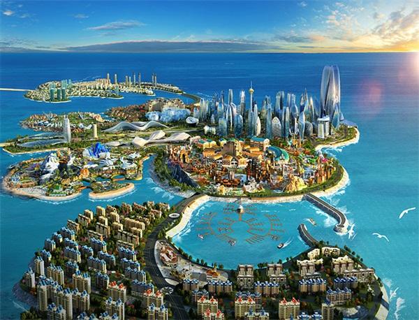 中国海南海花岛最新动态