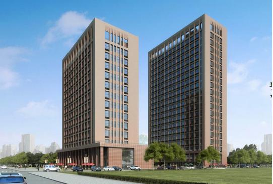 现代公寓建筑效果图
