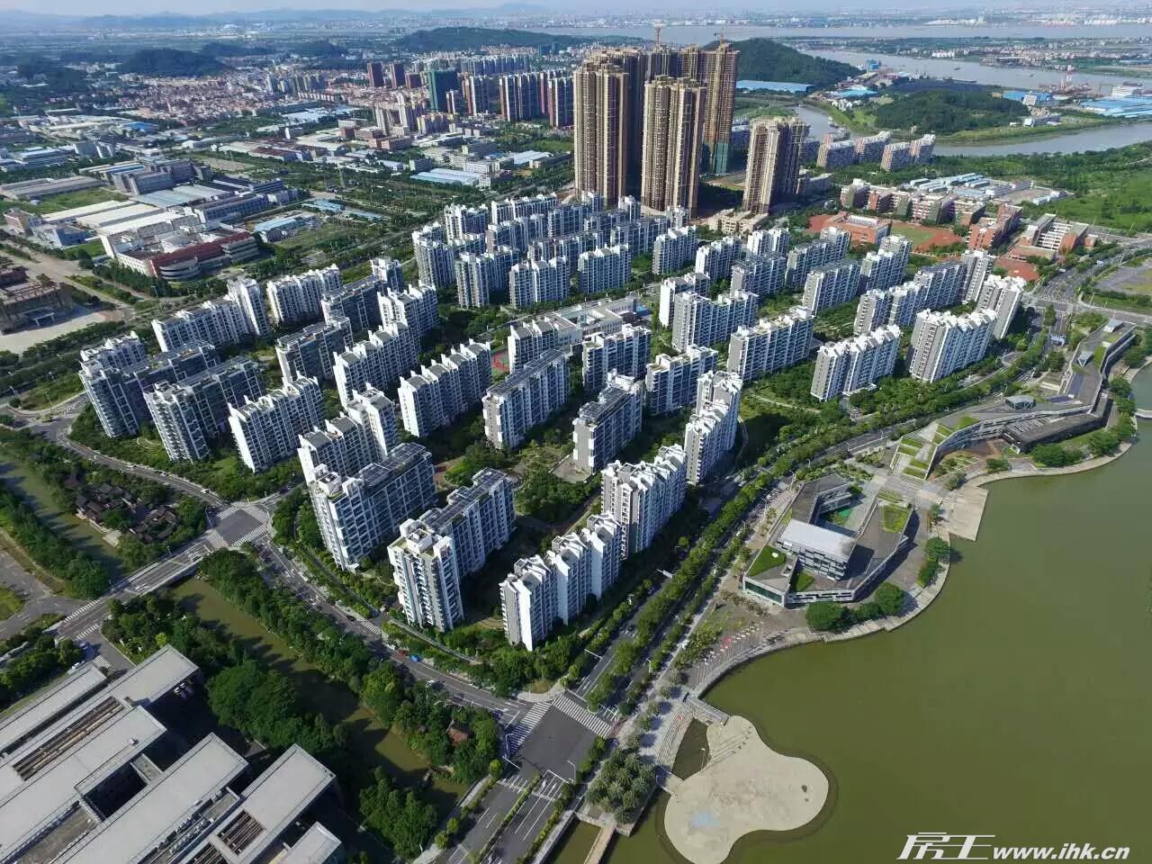广州亚运城楼盘外景图