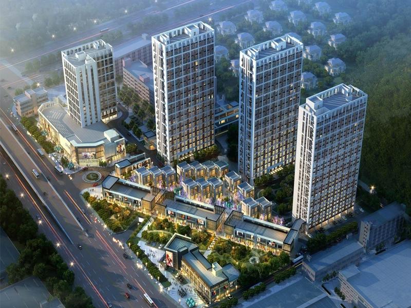 中海联智汇城效果图