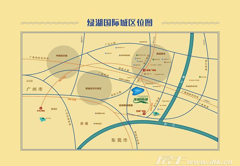敏捷绿湖首府交通图