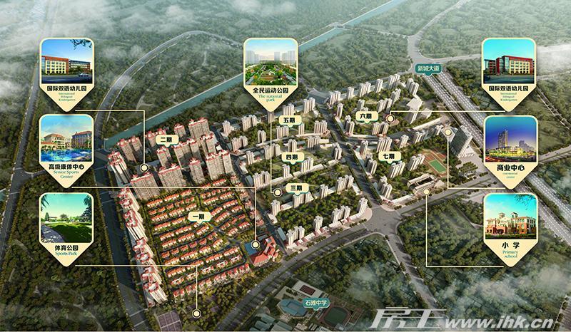 敏捷绿湖首府规划图