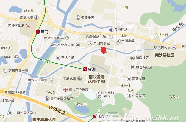 星河·湾区壹号交通图