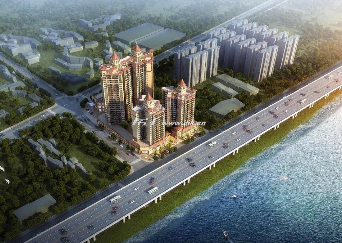 锦龙·誉景湾效果图