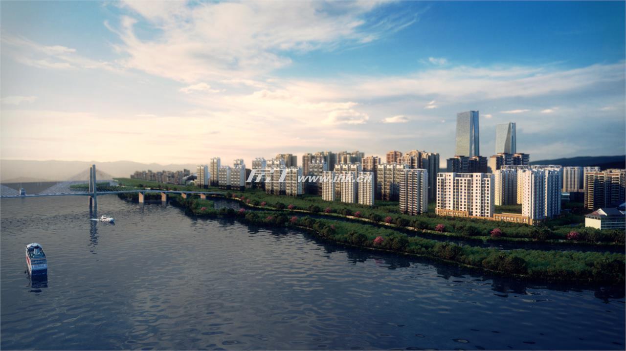 光大江与城效果图