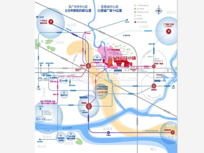 科慧花园交通图