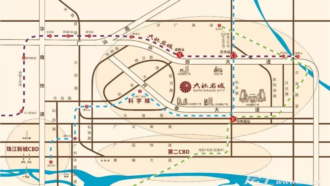 大壮名城交通图