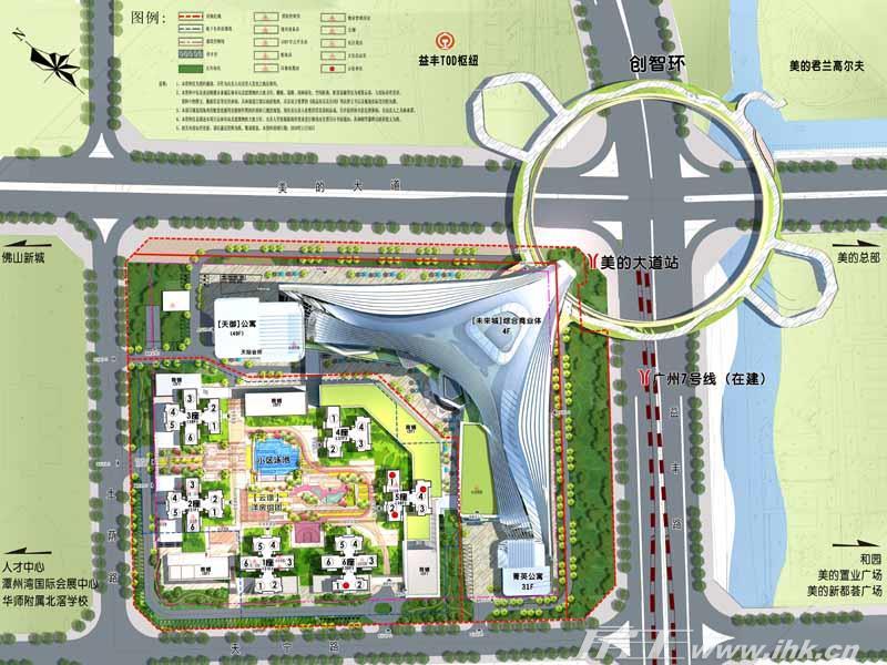 顺德未来城规划图
