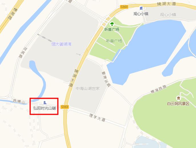 佛山弘阳·时光天樾交通图