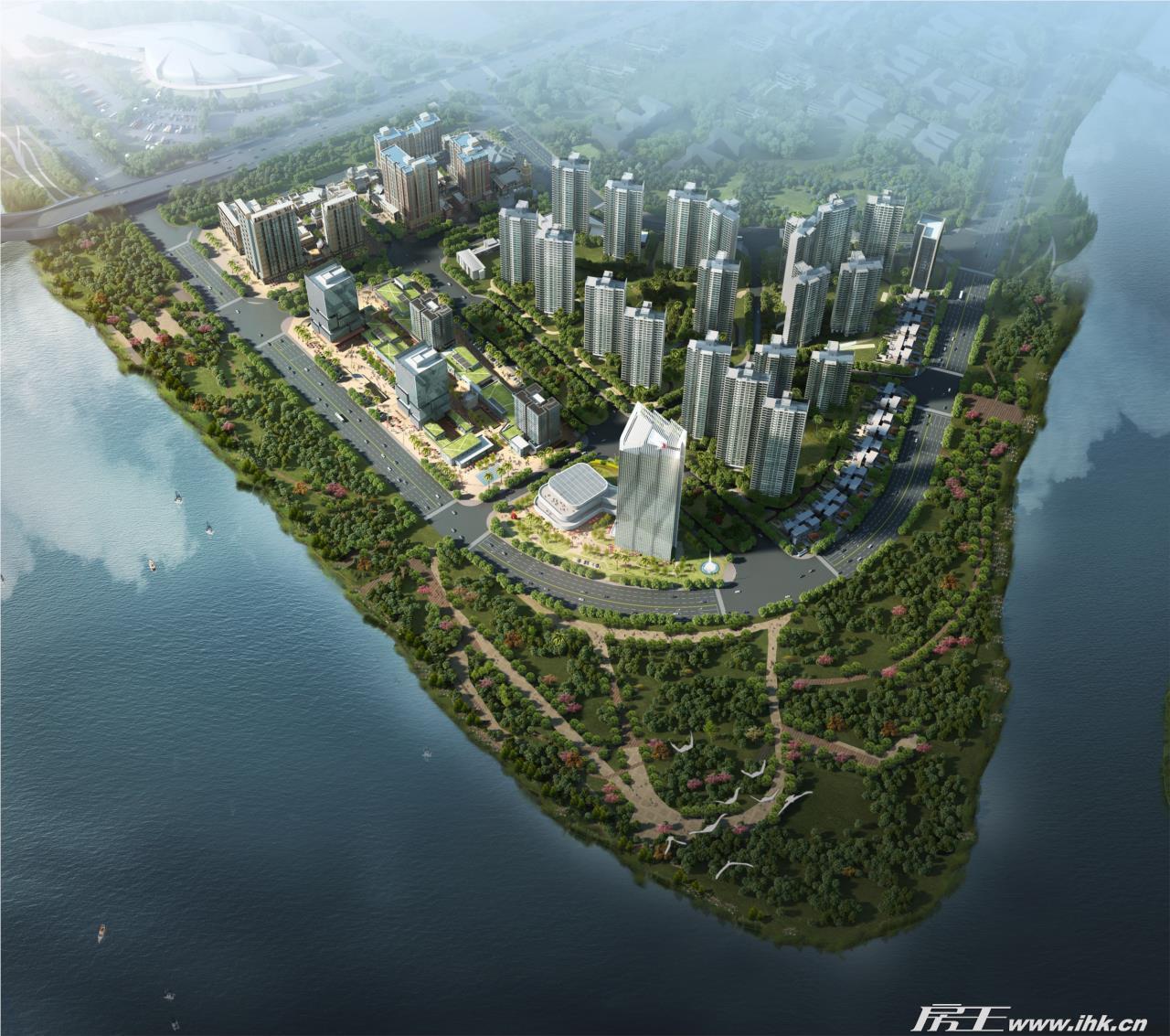 南沙金茂湾规划图