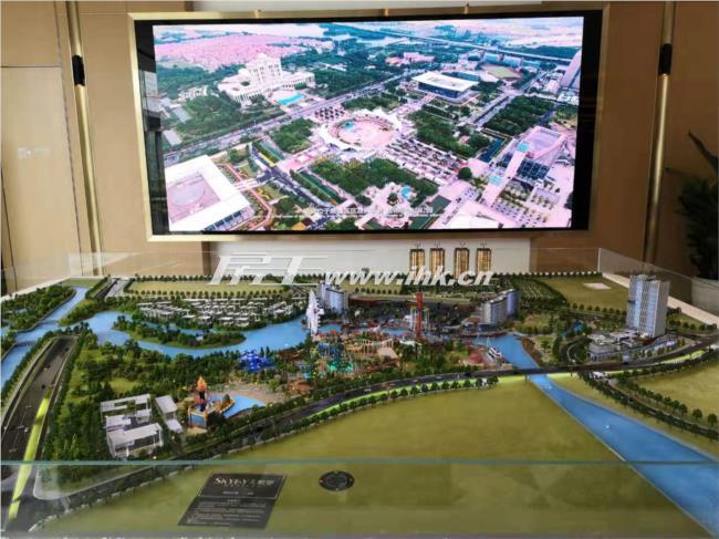 华侨城天鹅堡规划图