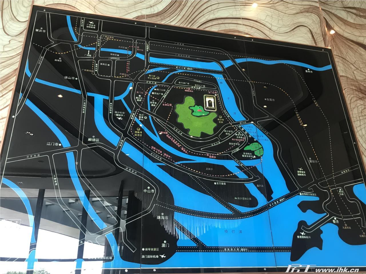 南沙湾御苑交通图