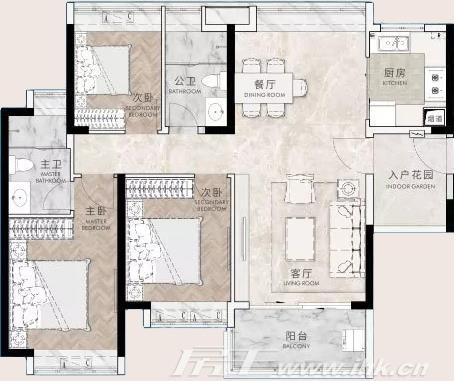 星河·东悦湾户型图