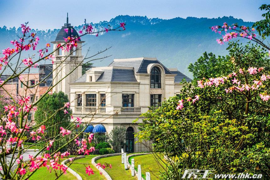 金地香山湖实景图