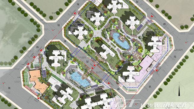 中国铁建·海悦国际规划图