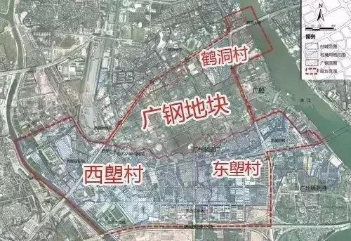 鹤洞村旧改定了是他家?隔壁广钢新城6万+,你说发不发!