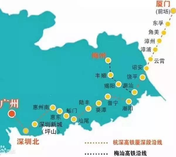欢呼!广东至少要新增5条高铁,直通17个地市!你最想去哪座城?