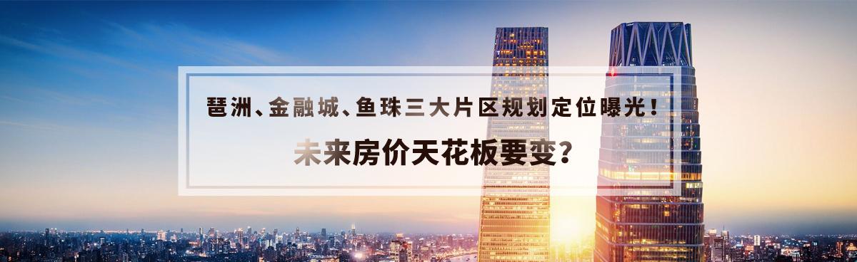 重磅!琶洲、金融城、鱼珠三大片区规划定位曝光!未来房价呢?