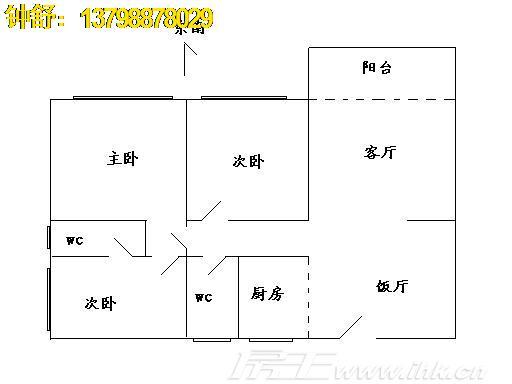 怡景山水花园户型图