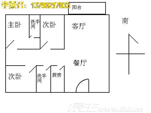 中信凯旋城户型图
